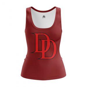 Collectibles Women'S Tank Daredevil Logo Red Vest