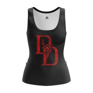Collectibles Women'S Tank Daredevil Logo Black Vest
