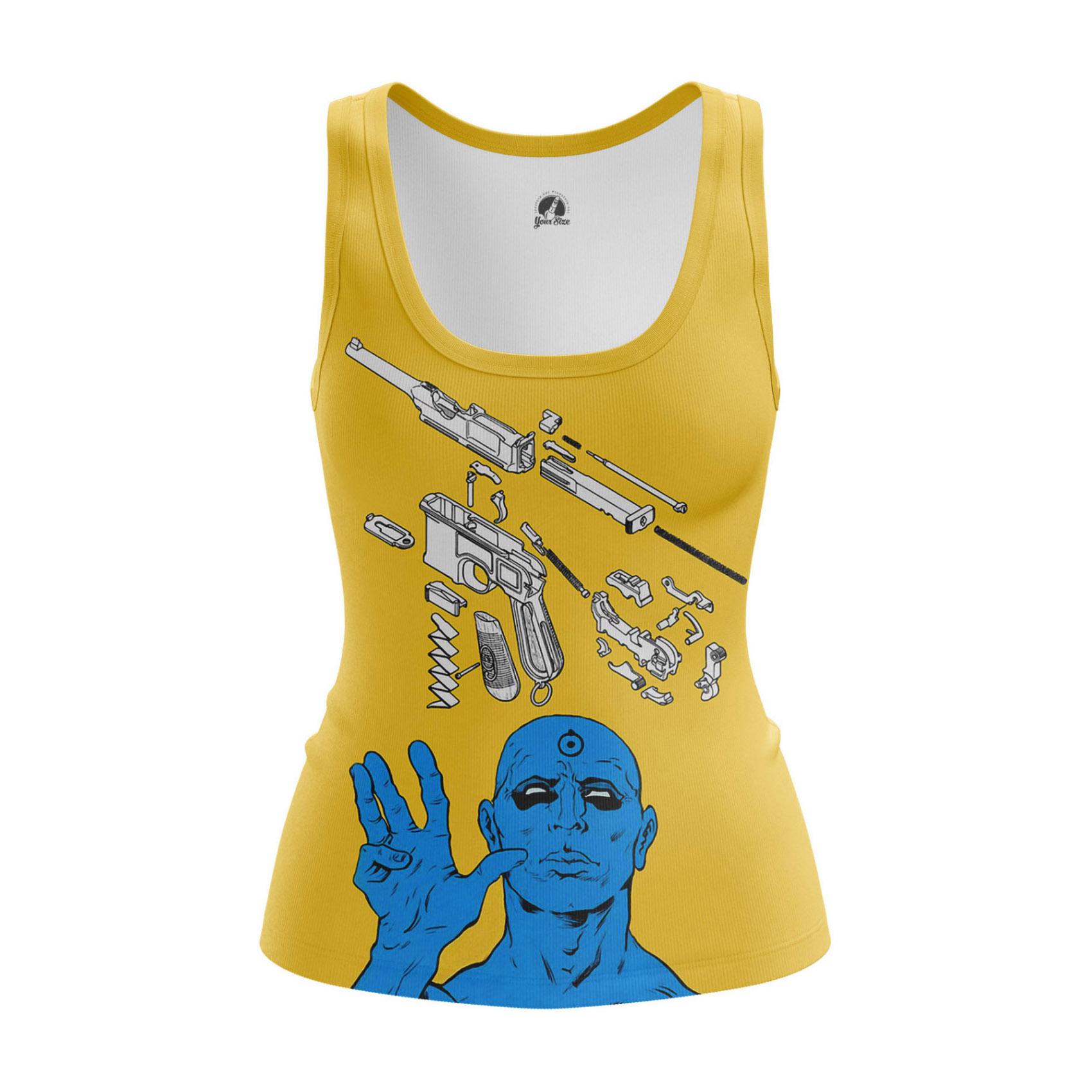 Collectibles Women'S Tank Disarmed Watchmen Manhattan Vest