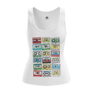 Collectibles Women'S Tank Eighties Audio Cassette 80S Vest