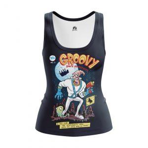Merchandise Women'S Tank Groovy Sega Games Vest