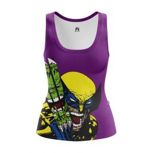 Merchandise Women'S Tank Hulk Vs Wolverine Vest