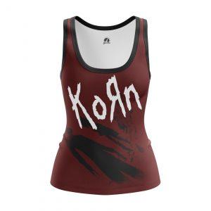 Merchandise Women'S Tank Korn Album Korn Clothes Vest