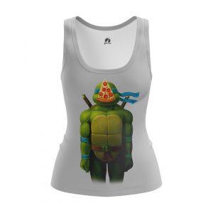 Merchandise Women'S Tank Leo Tmnt Ninja Turtles Pizza Vest