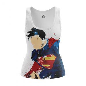 Merchandise Women'S Tank Man Of Steel Superman Vest