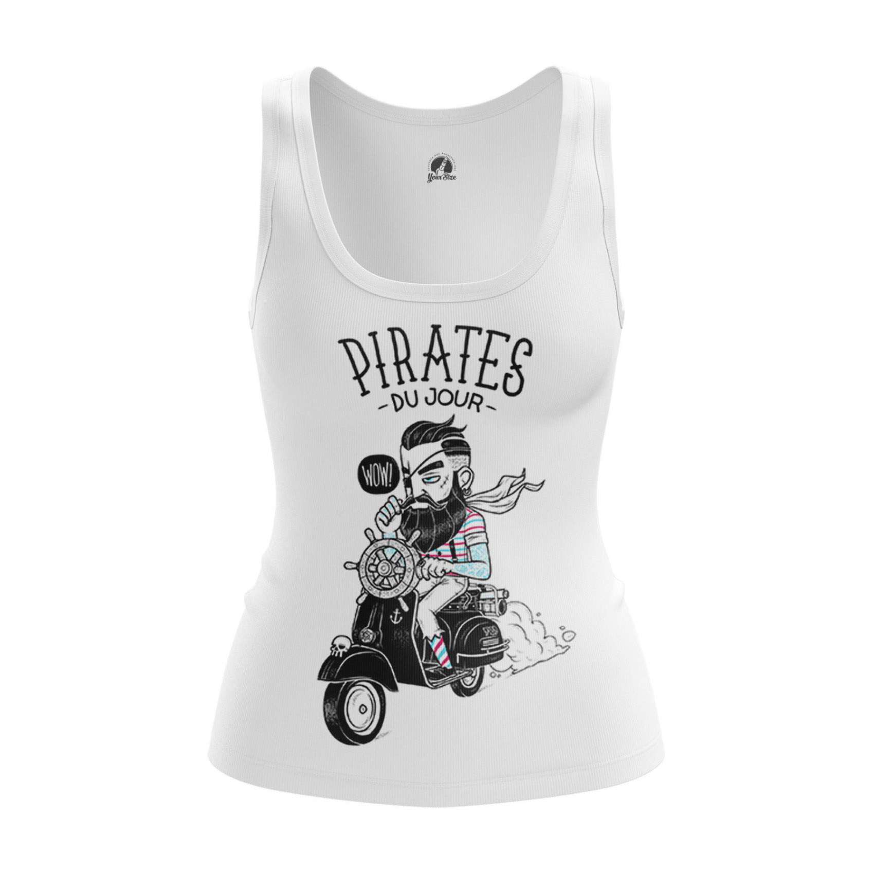 Collectibles Women'S Tank Modern Pirates Hipster Clothes Vest