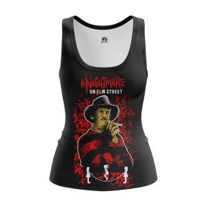 Merchandise Women'S Tank Nightmare On Elm Street Vest