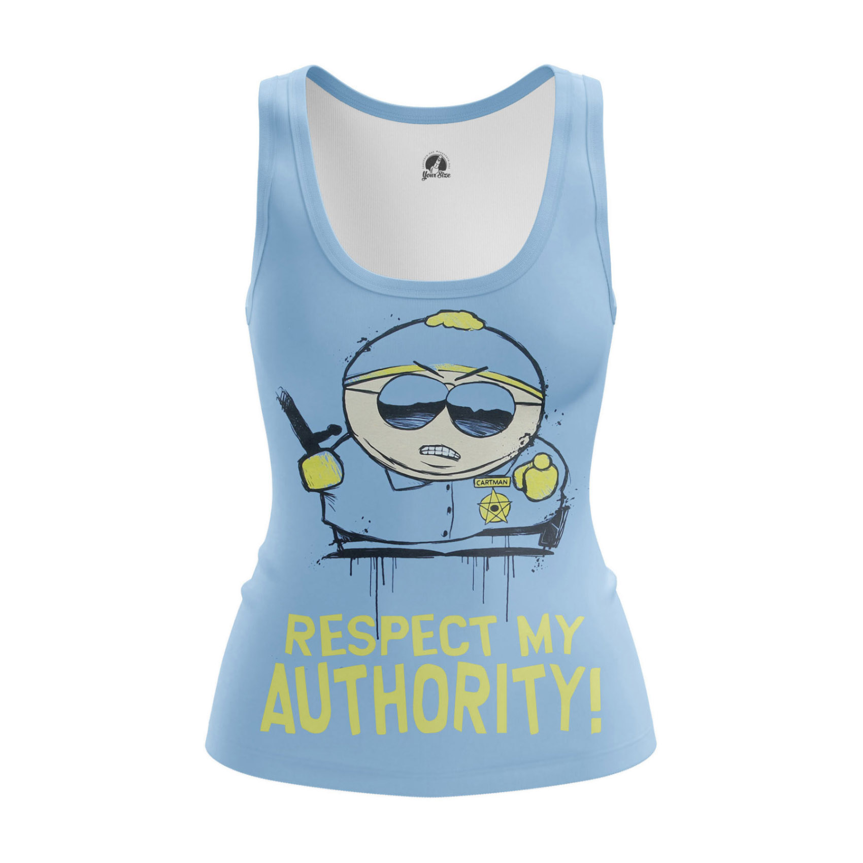 Collectibles Women'S Raglan Respect My Authority South Park