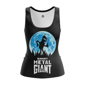 Collectibles Women'S Tank Shiny Metal Giant Futurama Vest