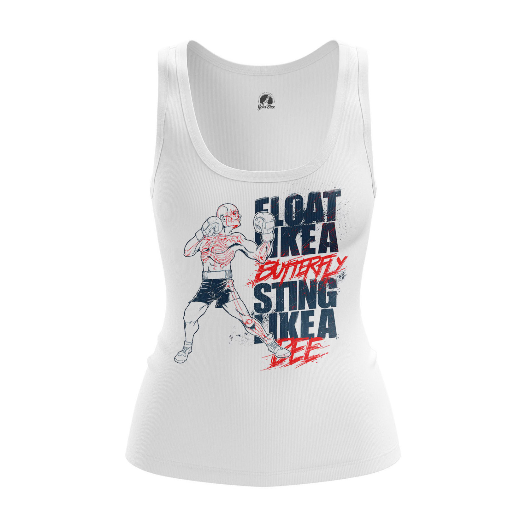 Collectibles Women'S Raglan Sting Like A Bee Boxing Phrase