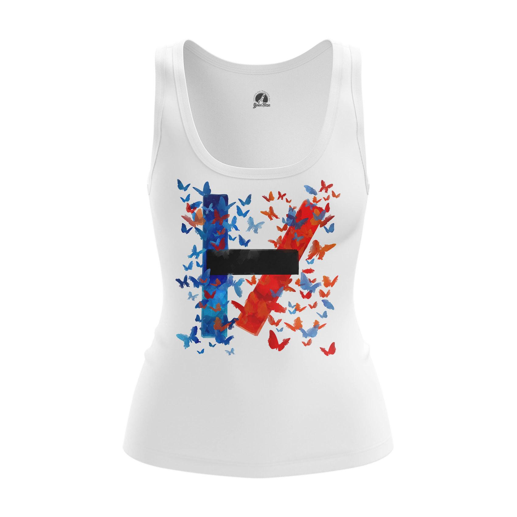 Merchandise Women'S Tank Twenty One Pilots Logo Shirts Clothes Vest
