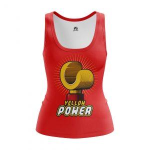 Merch Women'S Tank Yellow Power Lego Vest