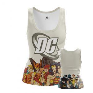 Merchandise Women'S Tank Dc Comics Superheroes Vest
