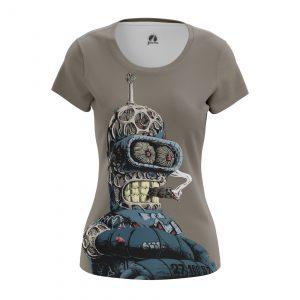 Collectibles Women'S T-Shirt Bender Rodriguez Futurama Robot Hero
