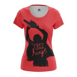 Merchandise Women'S T-Shirt Chainsaw Massacre Hugs Movie