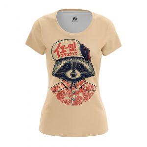 Collectibles Women'S T-Shirt Coon Animals Raccoon