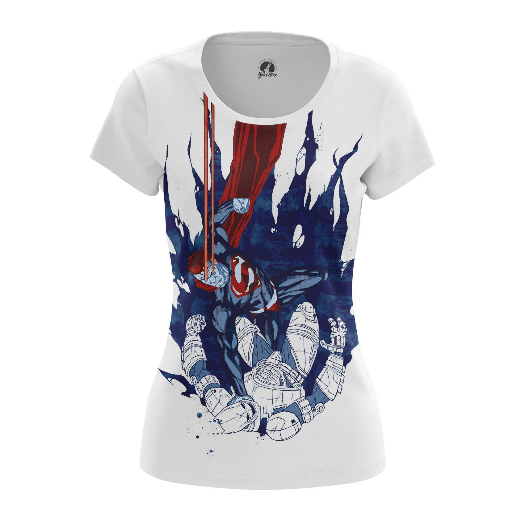 Merchandise - Women'S T-Shirt Dawn Of Justice Batman Superman