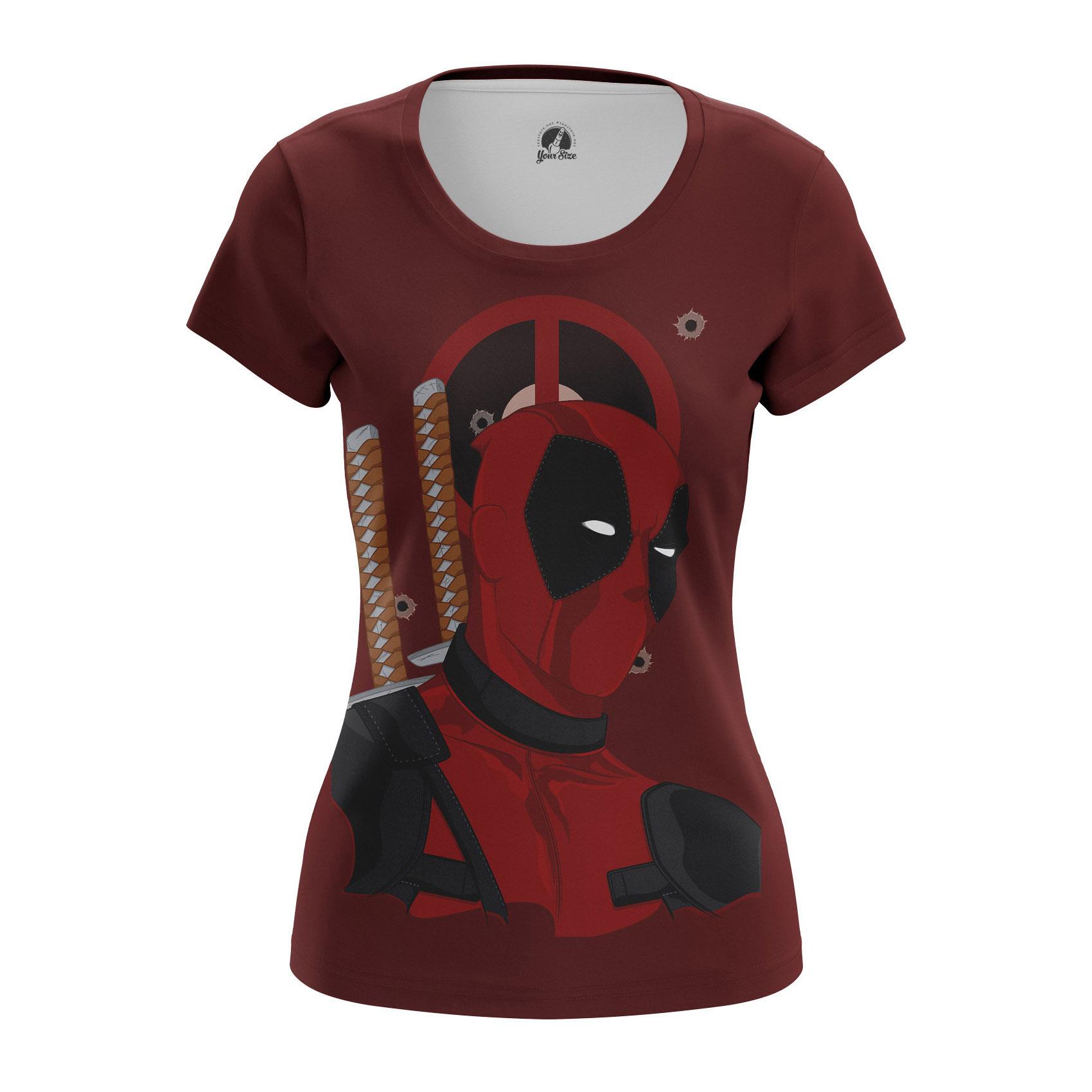 Merch Women'S Raglan Deadpool Merc