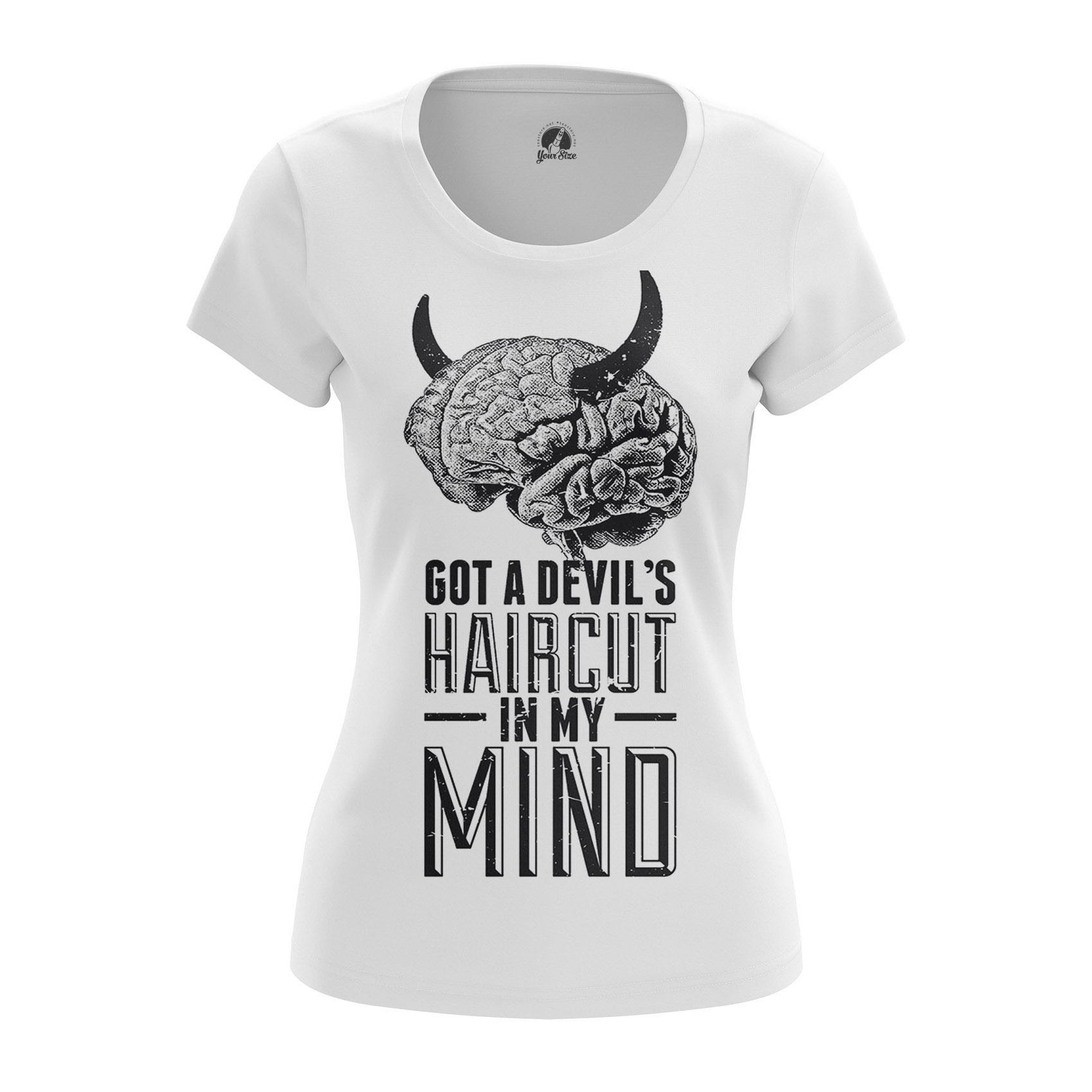 Merch Women'S Raglan Devils Haircut Satan Phrase