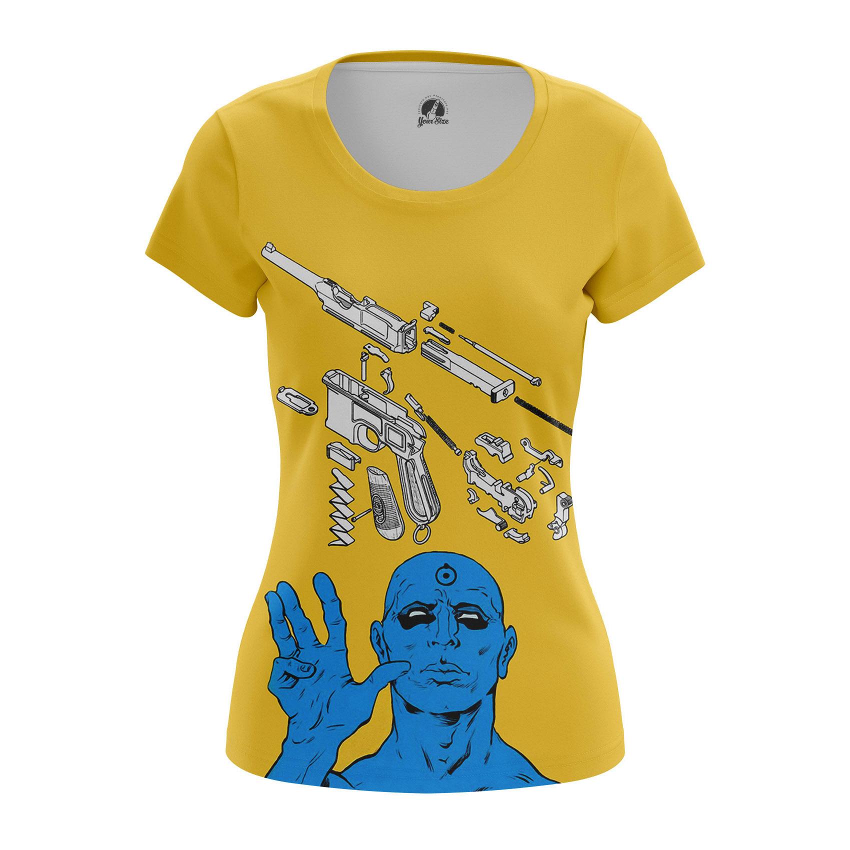 Collectibles Women'S Raglan Disarmed Watchmen Manhattan