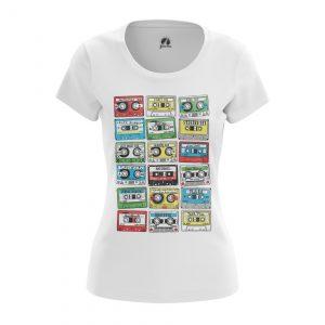 Collectibles Women'S T-Shirt Eighties Audio Cassette 80S