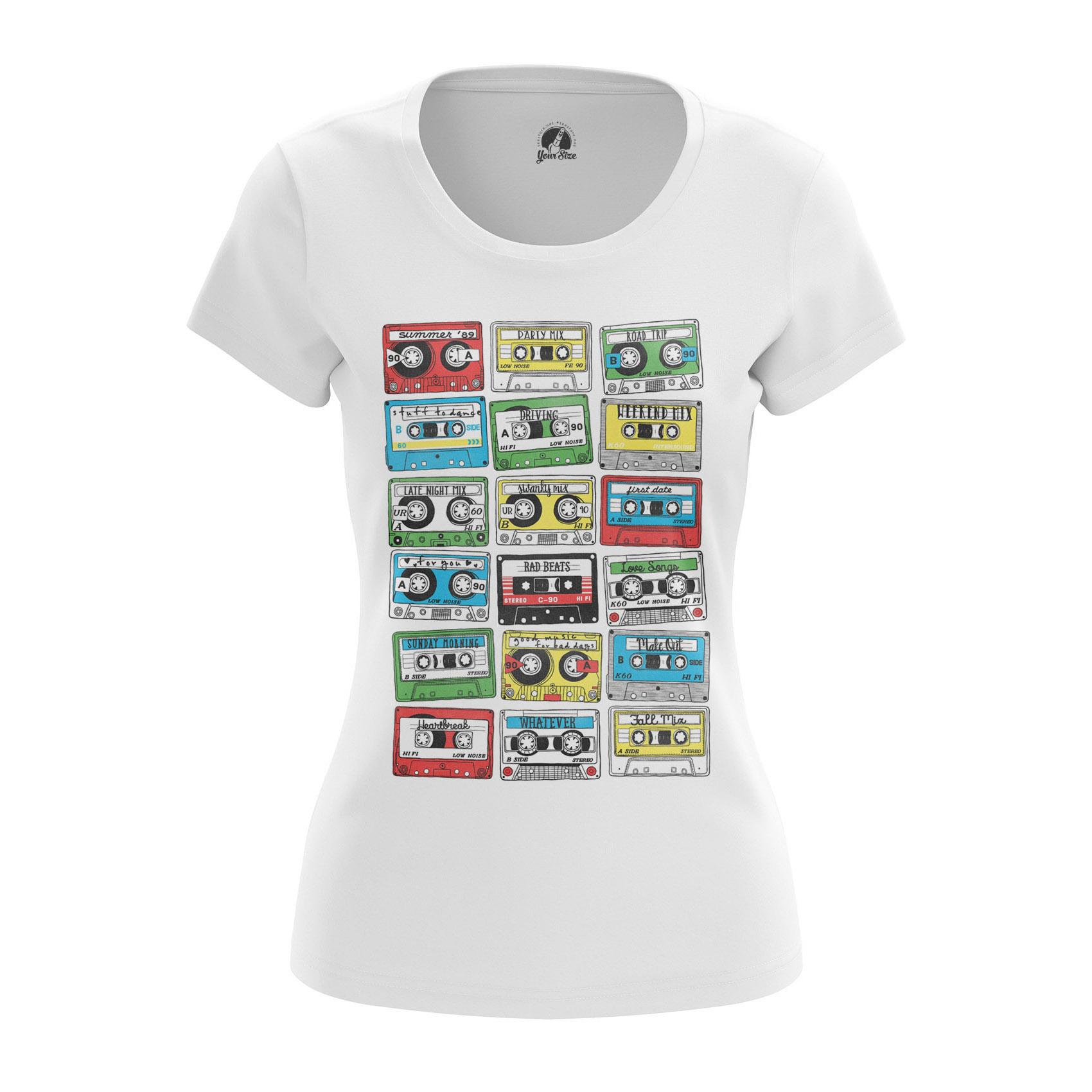 Merchandise Women'S Raglan Eighties Audio Cassette 80S