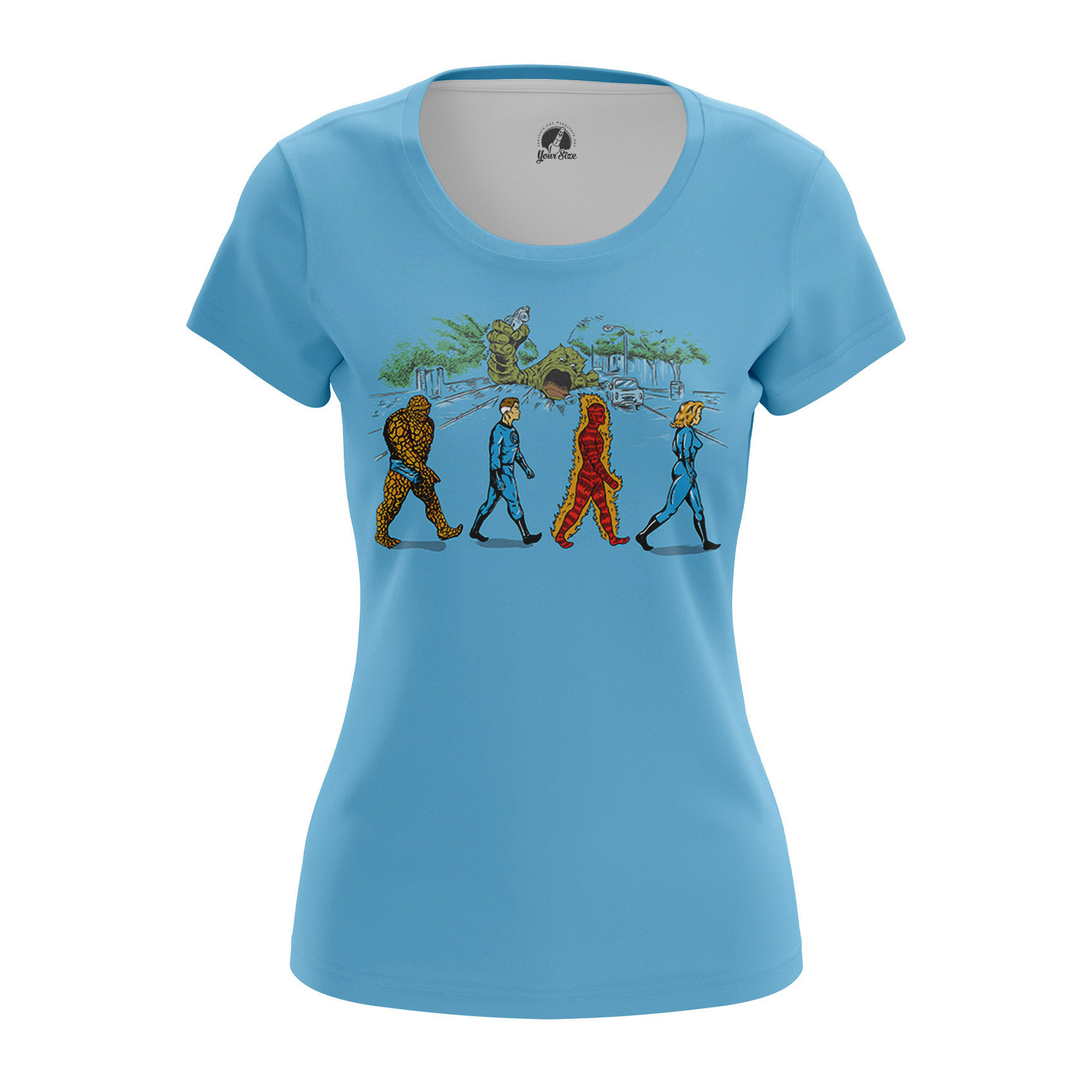 Merchandise Women'S Raglan Fantastic Four Marvel
