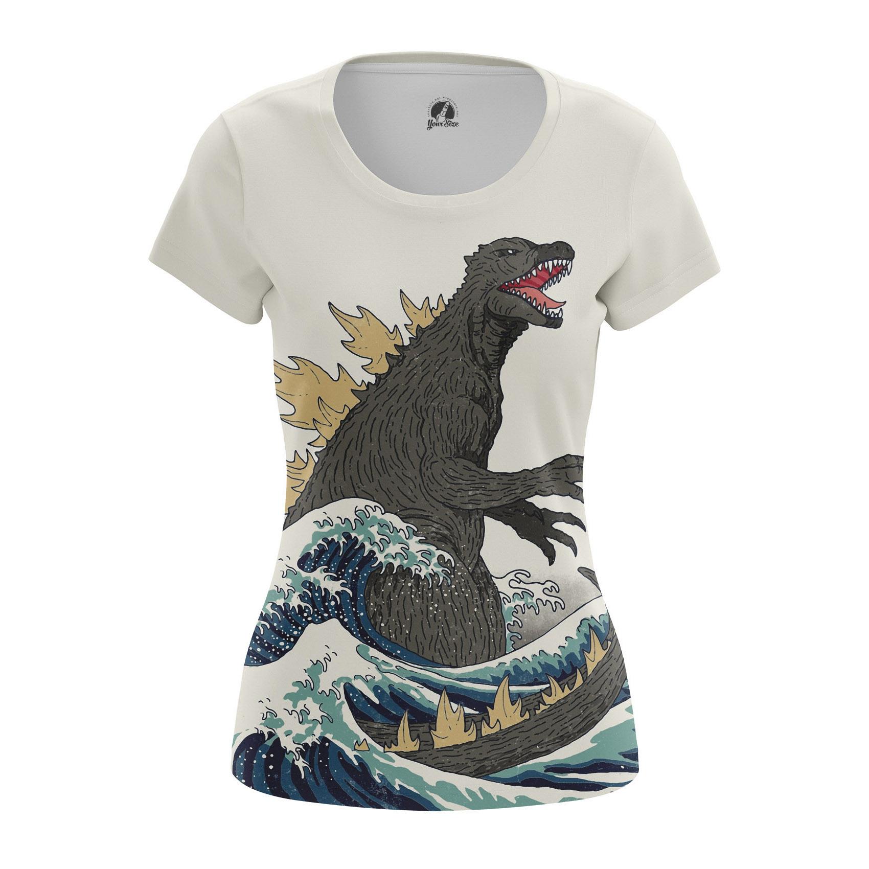 Merchandise Women'S Raglan Godzilla Japan Movie