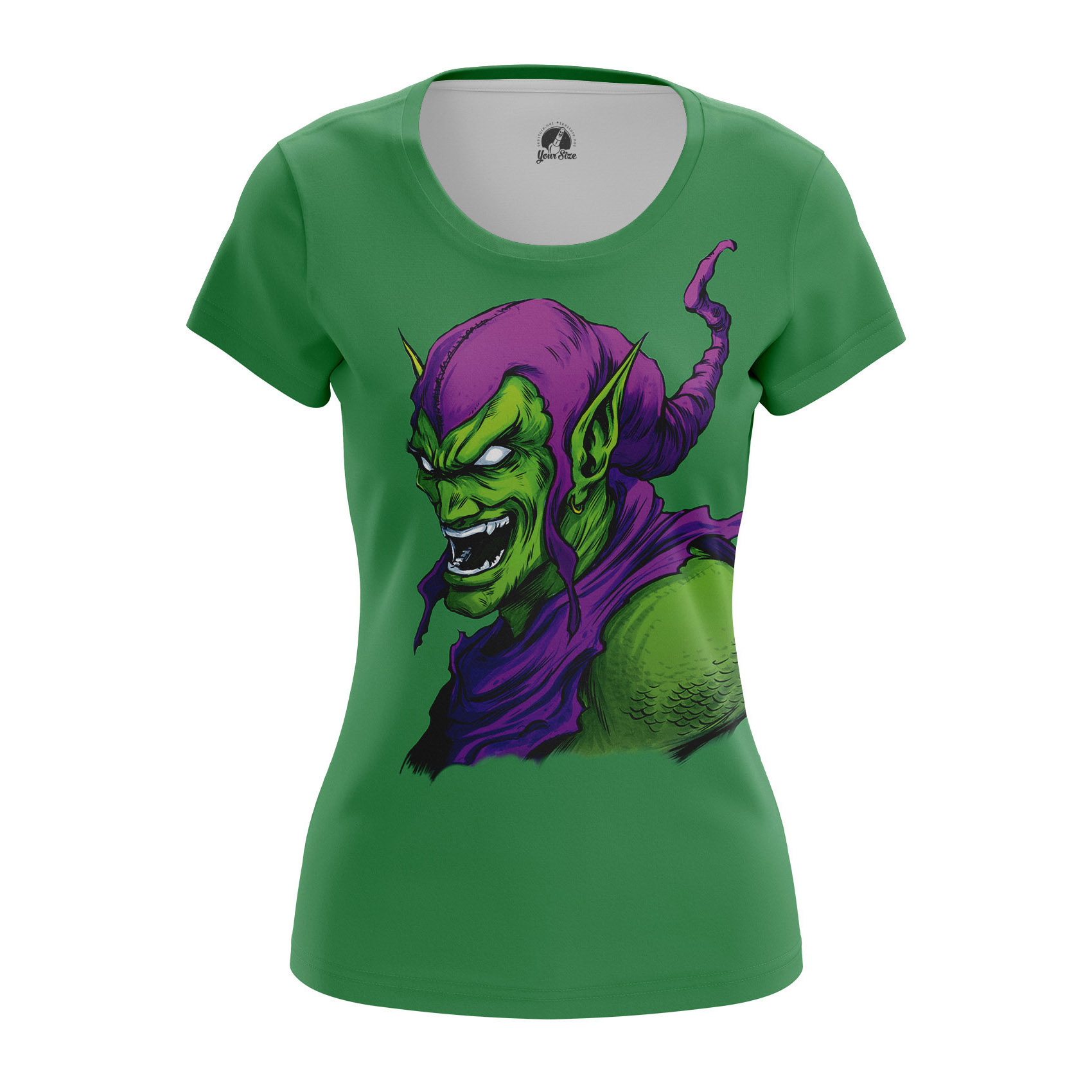 Merchandise Women'S Raglan Green Goblin Spider-Man