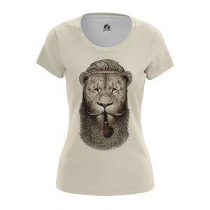 Merchandise Women'S T-Shirt Hippie Lion Animals Lions Hippie Lion