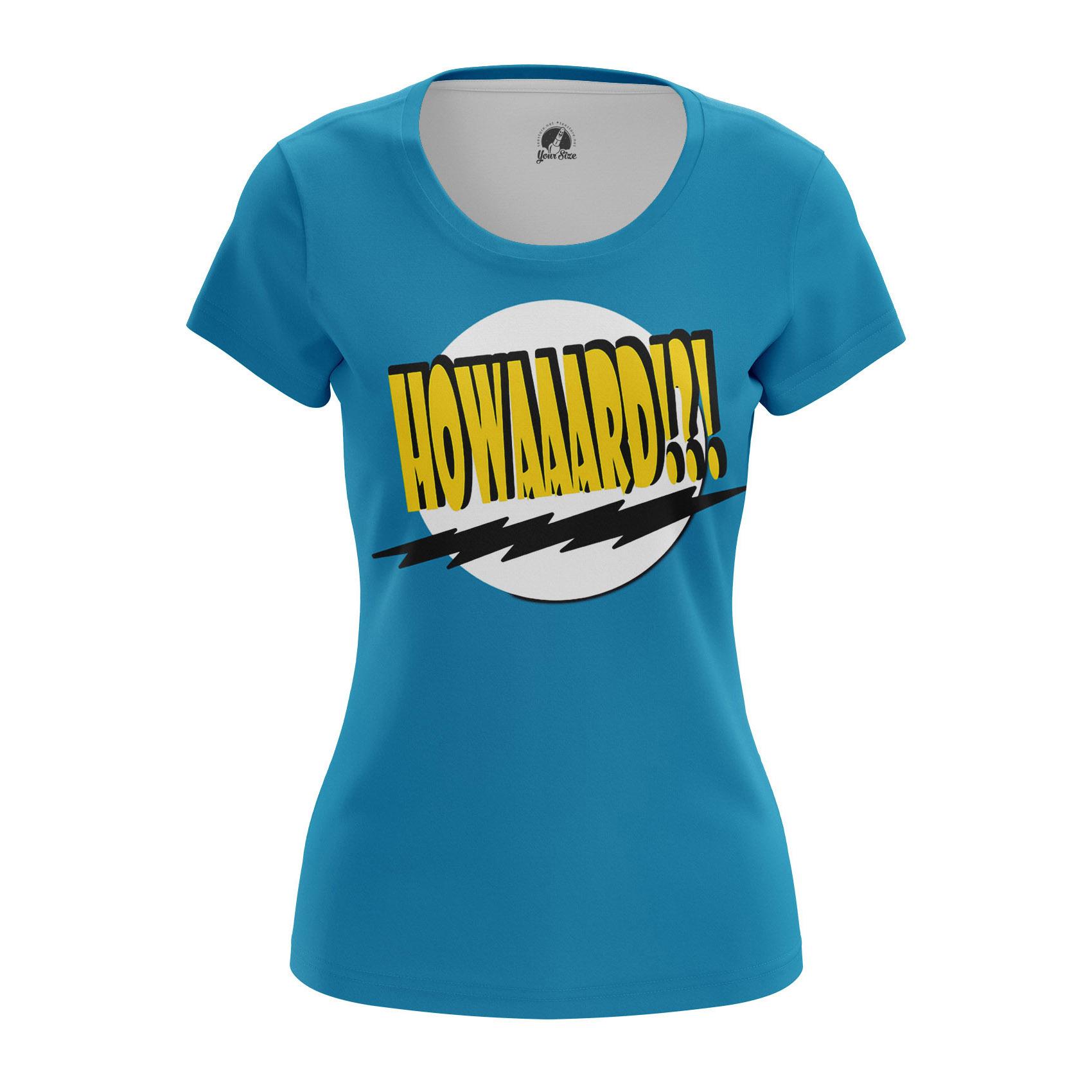 Merch Women'S T-Shirt Howard Big Bang Theory