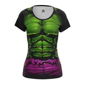 Merchandise Women'S T-Shirt Hulk Suit Body Chest