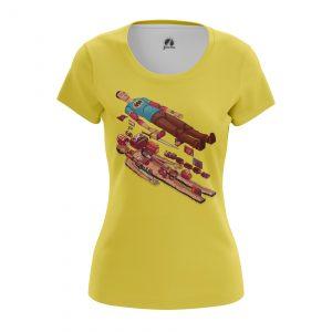 Merch Women'S T-Shirt Inner World Big Bang Theory