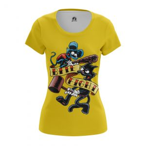 Merchandise Women'S T-Shirt Itchy And Scratchy Simpsons