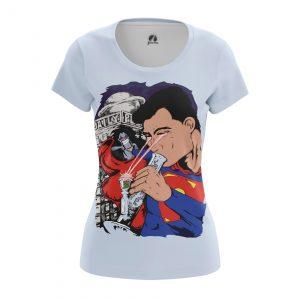 Merch Women'S T-Shirt Junk Man Superman Weed