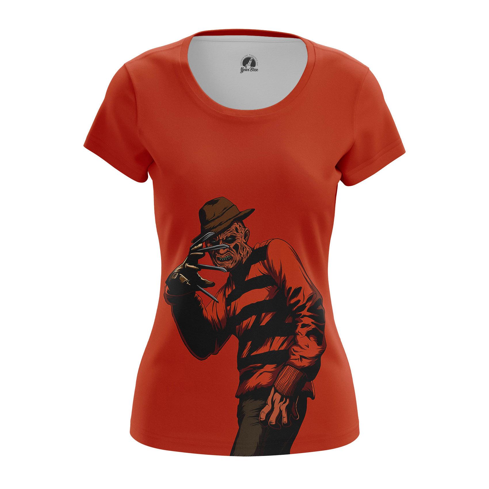 Merch Women'S Long Sleeve Krueger A Nightmare On Elm Street