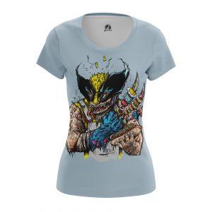 Merchandise Women'S T-Shirt Logans Bbq Xmen