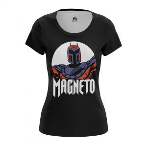 Collectibles Women'S T-Shirt Magneto Xmen Black