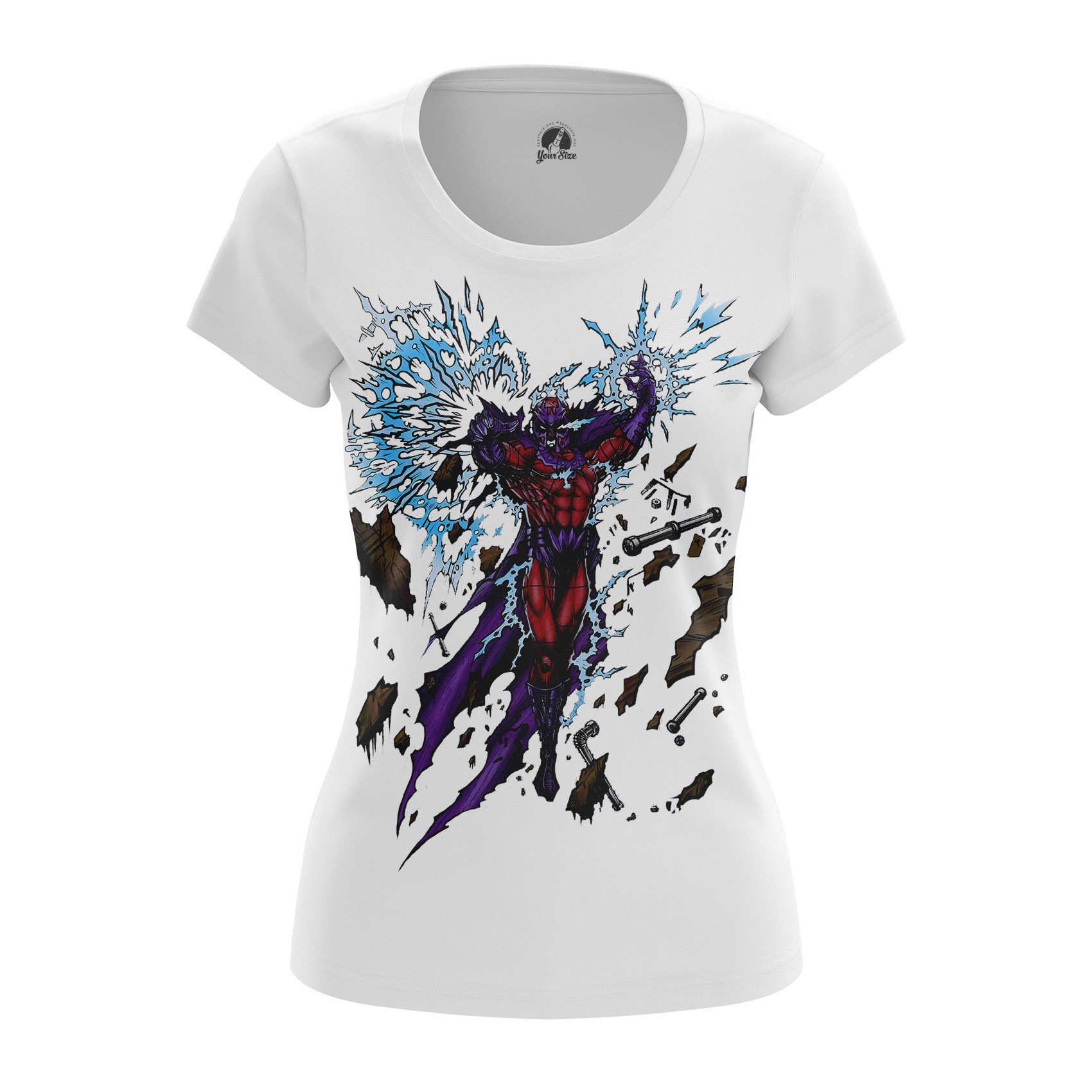 Collectibles Women'S Long Sleeve Master Of Magnetism Magneto Xmen