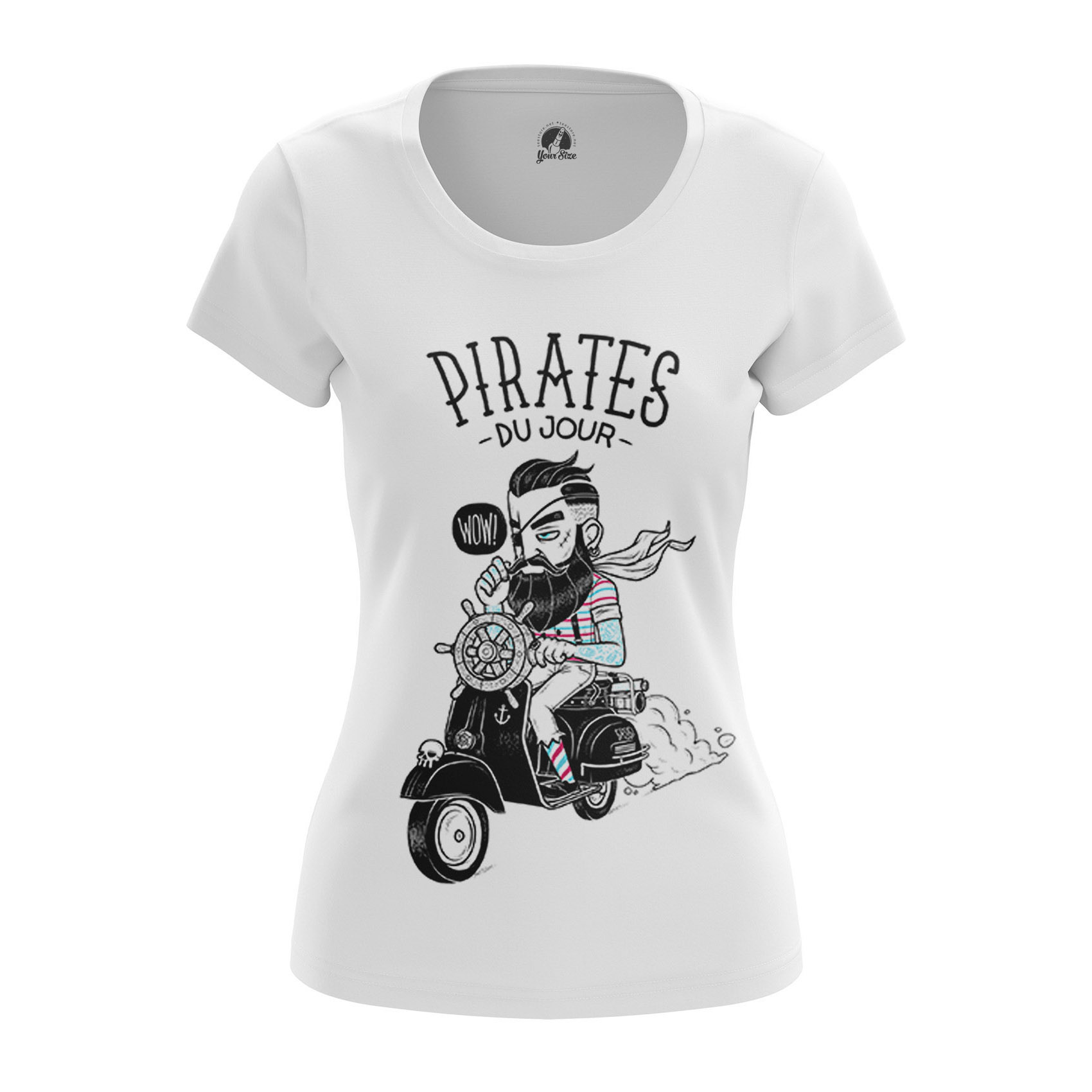Collectibles Women'S T-Shirt Modern Pirates Hipster Clothes