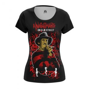 Merchandise Women'S T-Shirt Nightmare On Elm Street