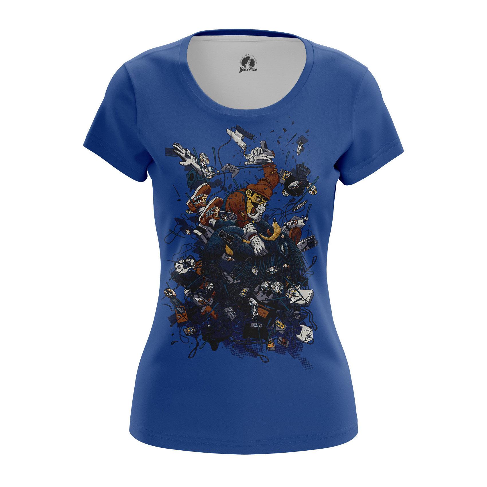 Merchandise Women'S T-Shirt Nintendo Brawl Classic Old Games
