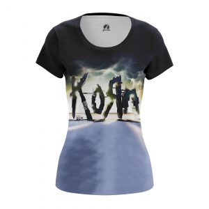 Merch Women'S T-Shirt Path Of Totality Korn Clothes