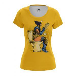 Merchandise Women'S T-Shirt Poo Time Wolverine X-Men