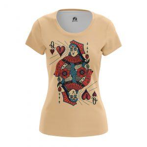 Merchandise Women'S T-Shirt Queen Card Gamess