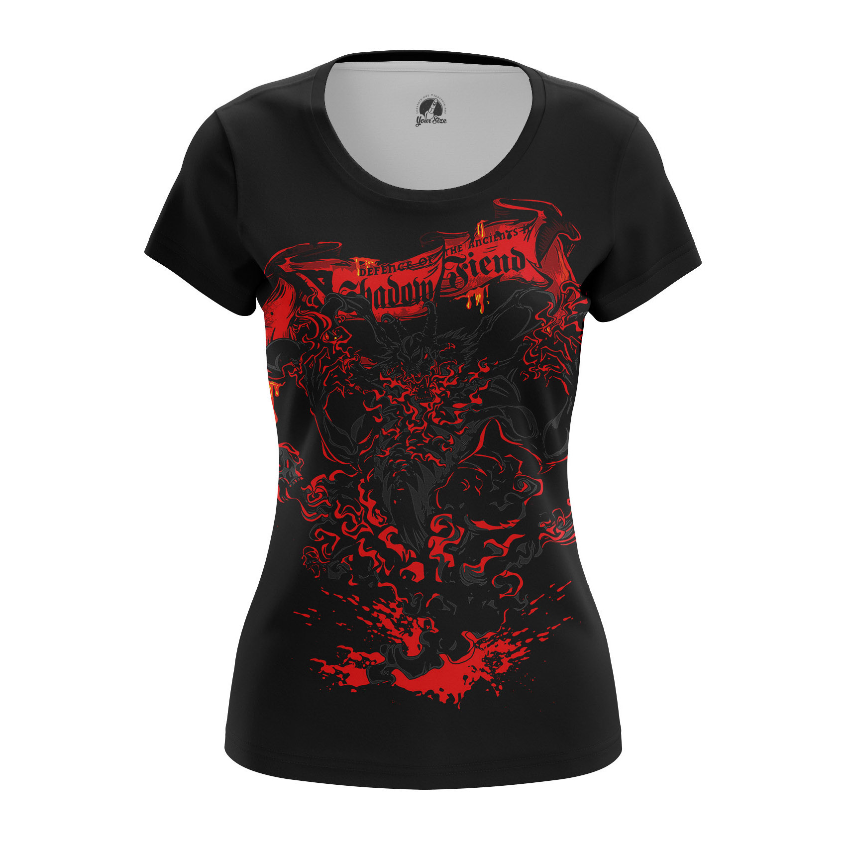 Merchandise Women'S Raglan Shadow Fiend Dota 2