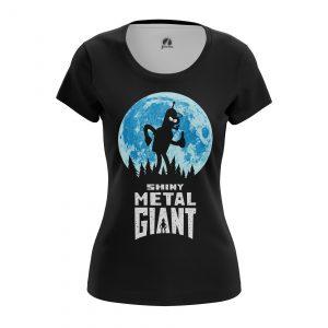 Collectibles Women'S T-Shirt Shiny Metal Giant Futurama Steel Giant