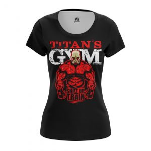 Collectibles Women'S T-Shirt Shut Up And Train Attack On Titan