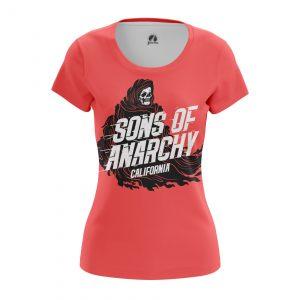 Merch Women'S T-Shirt Sons Of Anarchy Tv