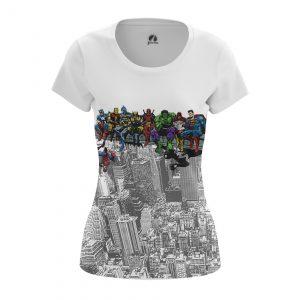 Collectibles Women'S T-Shirt Superhero Lunch Superheros